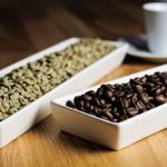 Café colombiano tostado y crudo
