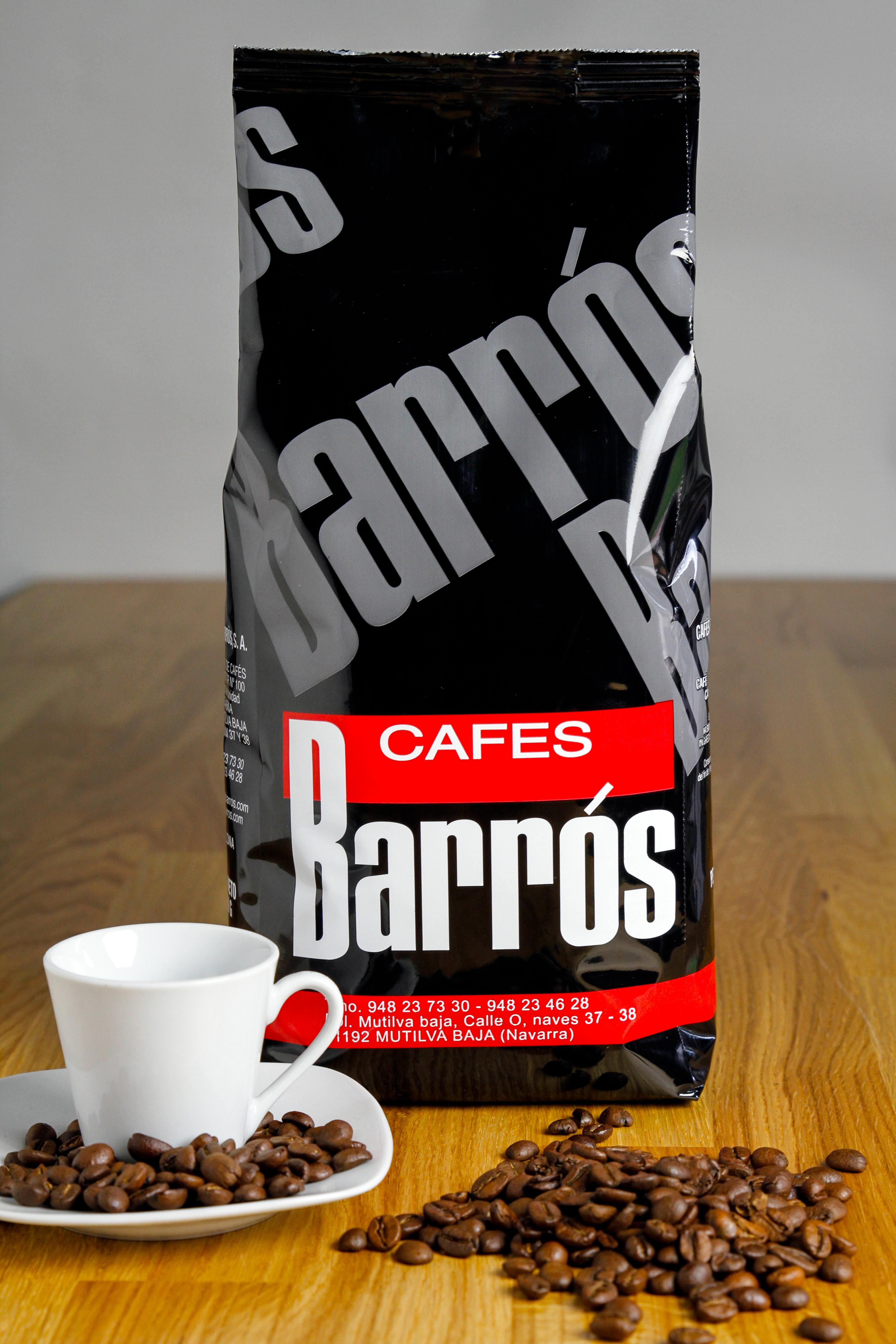 Café mezcla en grano 70% – 30%