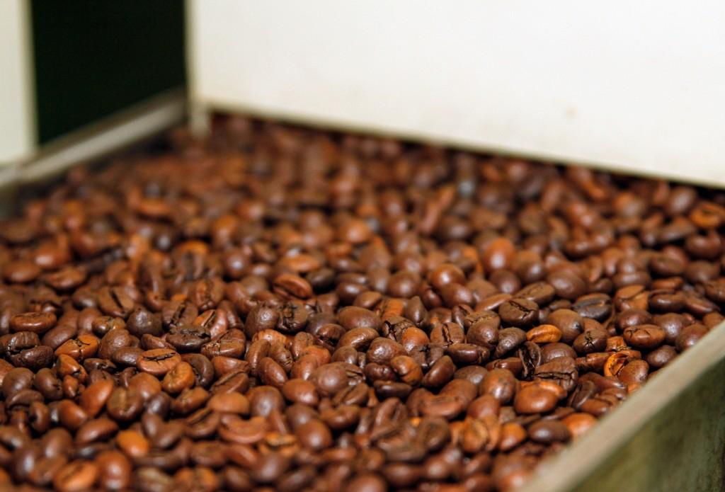 Tras enfriar el café